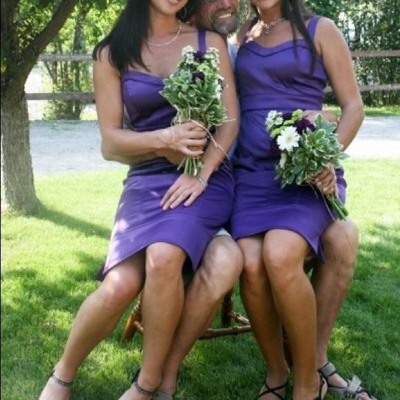 Jessica Simpson Dresses & Skirts - Purple Cocktail Dress